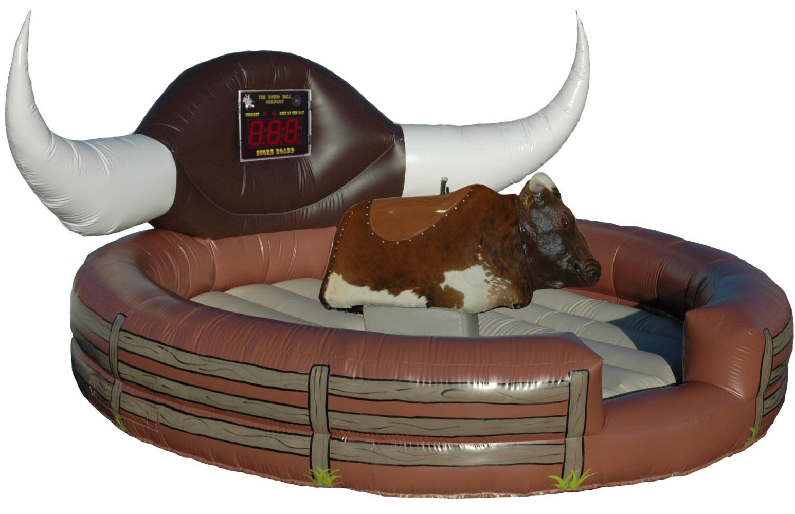 Механический бык родео сделать