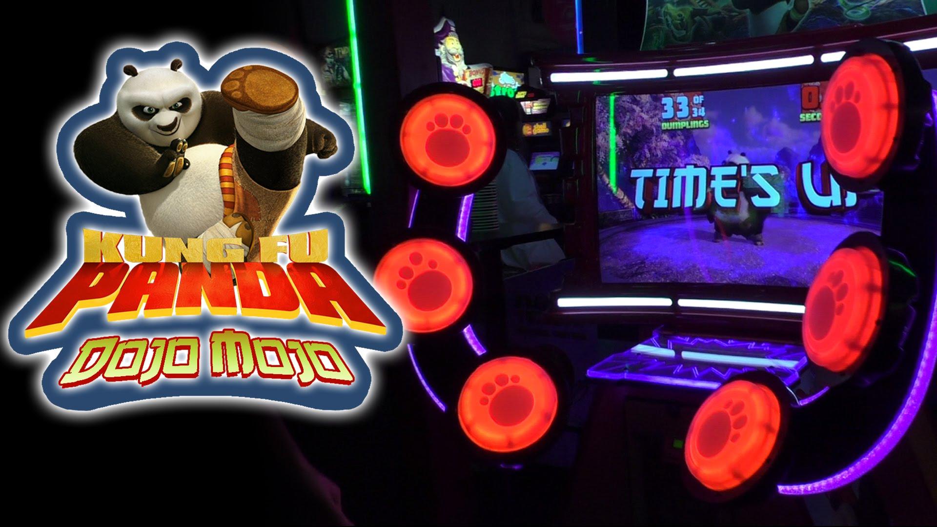 игровой автомат аттракцион Kung-Fu Panda