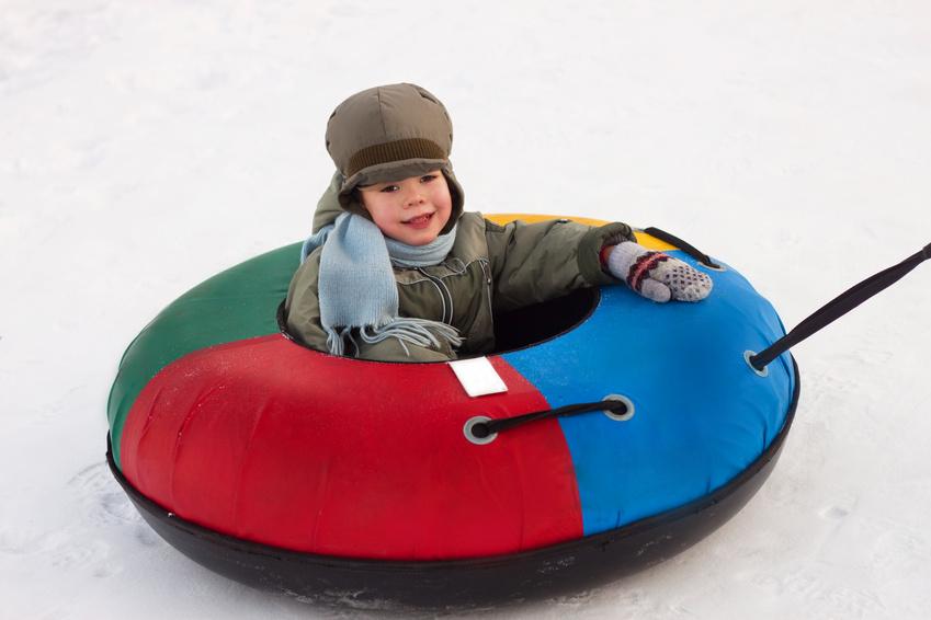 Аттракционы для сноутюбинга (катания на снегу)