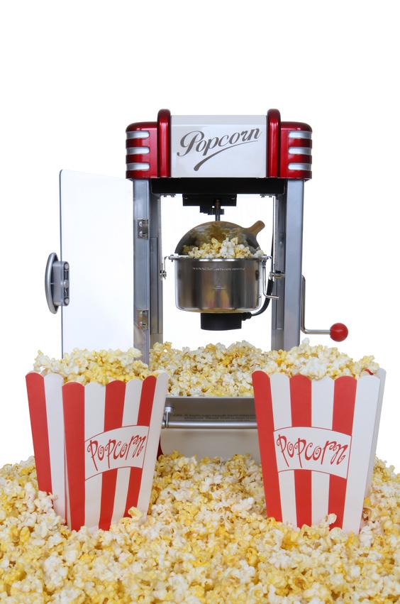 Автомат для виробництва попкорну