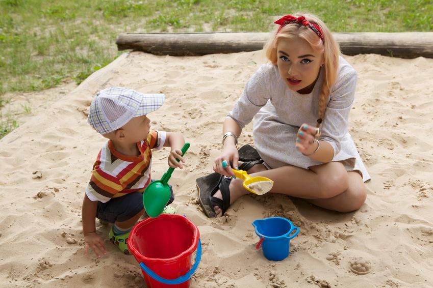 Безкоштовні пісочниці у розважальних парках
