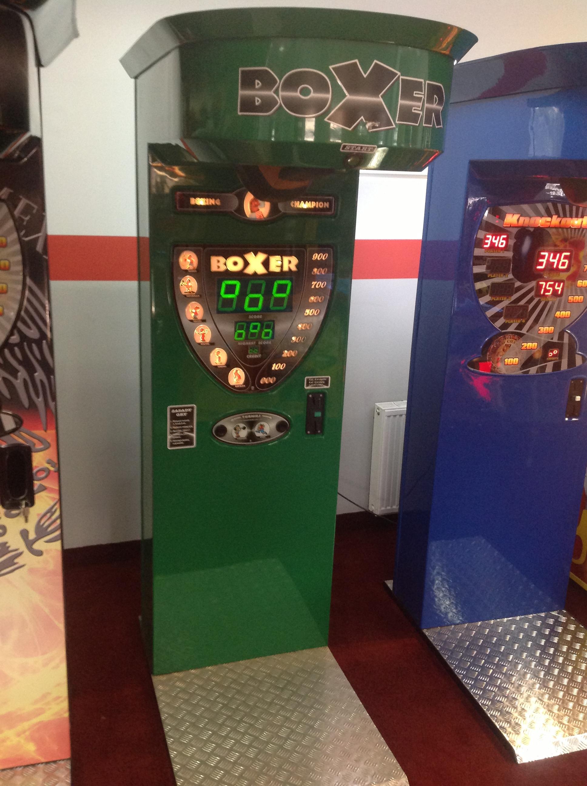 """Игровой автомат """"Боксер"""""""