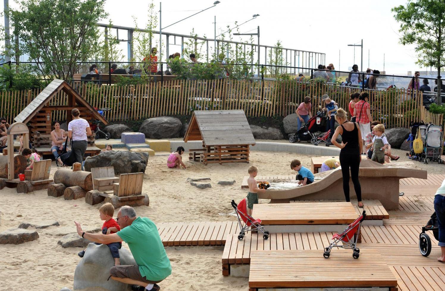 Как сделать детский парк еще интереснее