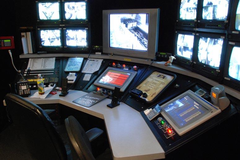 Контроль выручки на аттракционах камеры наблюдения