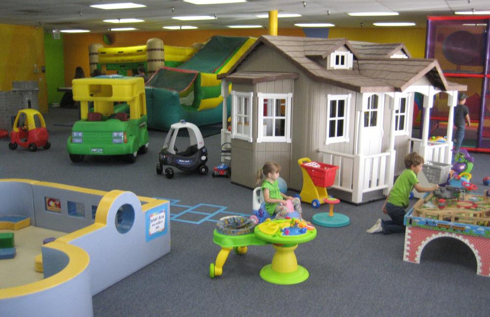 купити обладнання для дитячого розважального центру