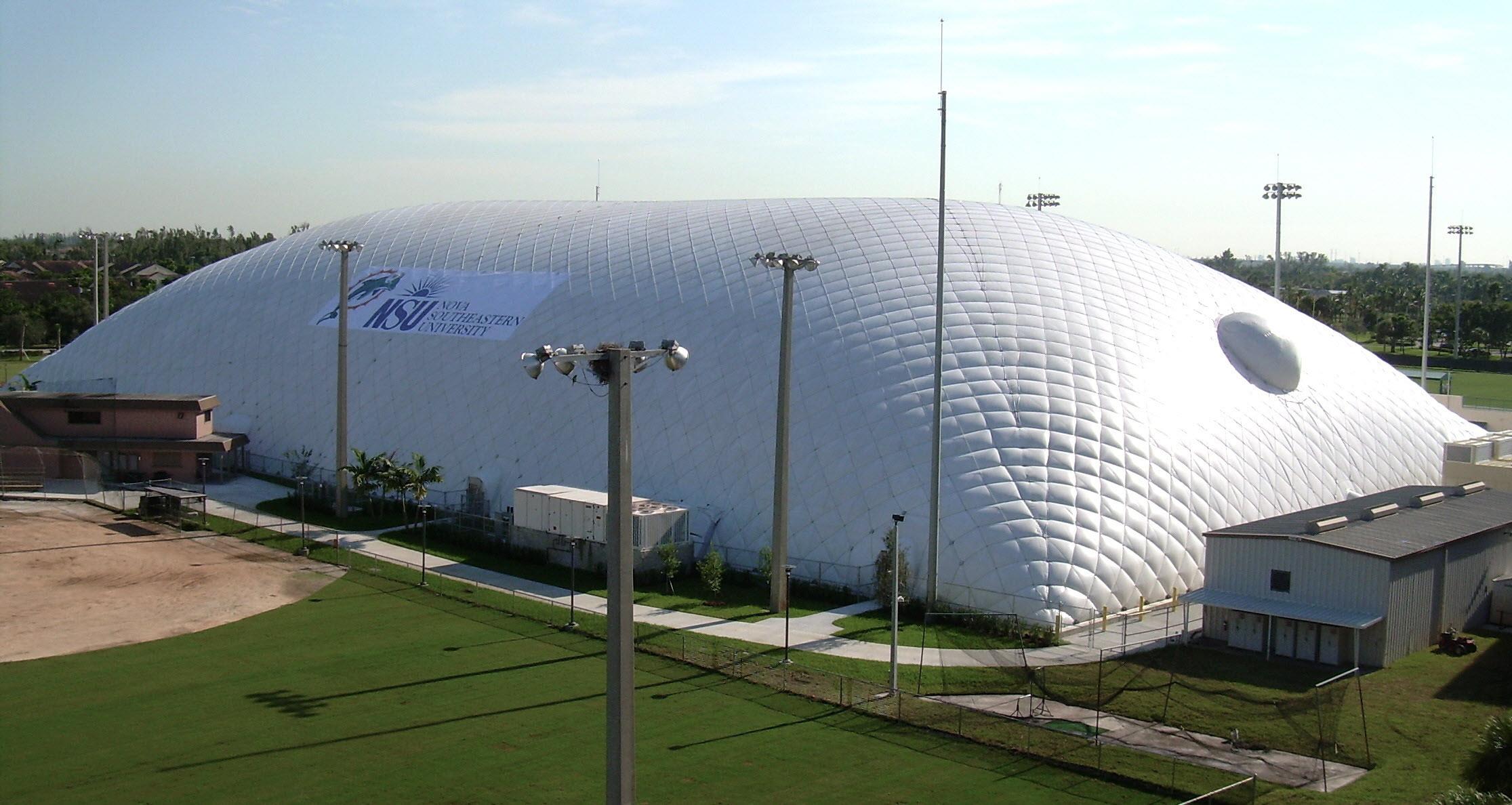 Надувной купол для футбольного поля