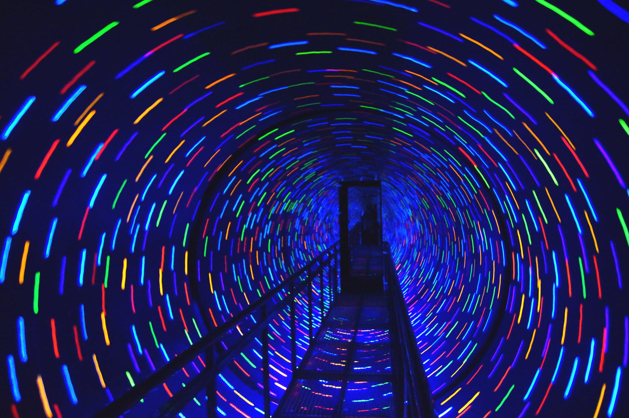Новинки развлекательного бизнеса: тоннель Вортекс