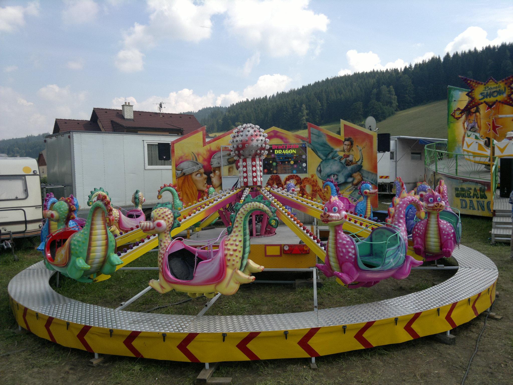 паркові атракціони в Україні